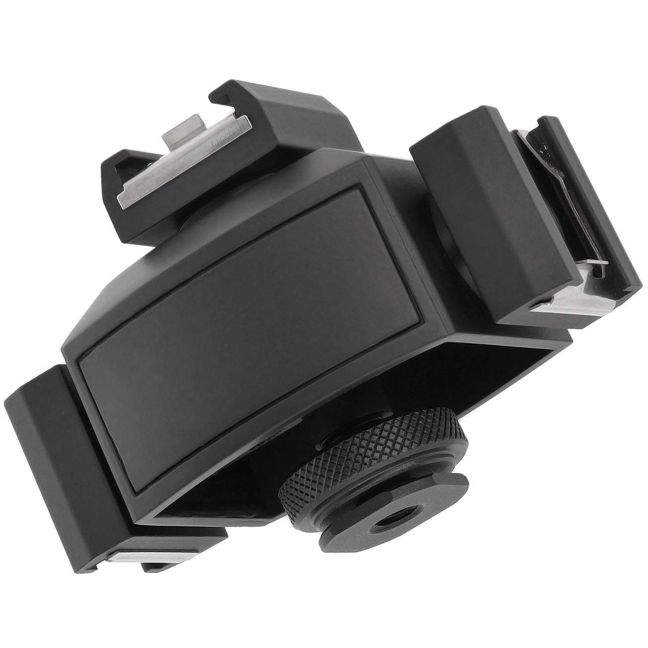 Micnova MQ-THA Espansione per slitta flash 3 ingressi per attacco flash per utilizzare pi/ù accessori per fotocamera contemporaneamente adattatore per attacco hot shoe