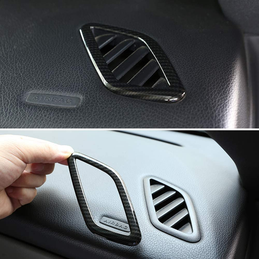 Air Condition Outlet Cover Trim Decoration JIERS for Mercedes Benz CLA GLA A Class W117 C117 W176 A180 X156 2015-2018