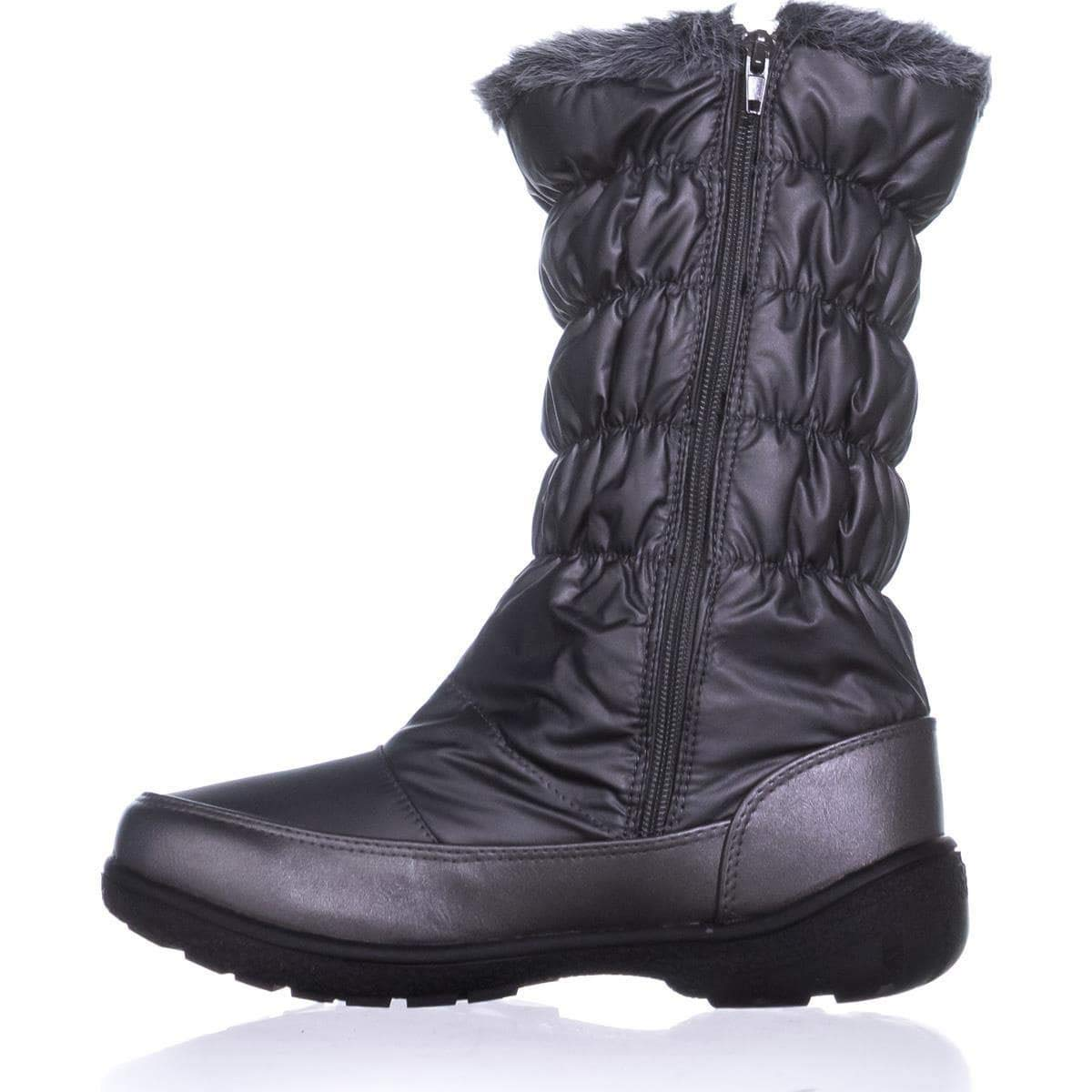 Sporto Makela Cold-Weather Waterproof Boots Size 9 M Silver
