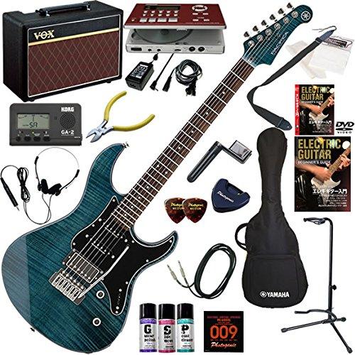 【最安値挑戦】 YAMAHA エレキギター 初心者 YAMAHA 入門 B07F65NMQK 人気のパシフィカ エレキギター 美しいフレイムメイプルトップ ギターの練習が楽しくなるCDトレーナー(エフェクターも内蔵)と人気のギターアンプVOX Pathfinder10が入った強力21点セット PACIFICA612VIIFM/RTB(ルートビア) B07F65NMQK IDB(インディゴブルー) IDB(インディゴブルー), 【送料無料/新品】:22c5fbd3 --- mswebserv.com