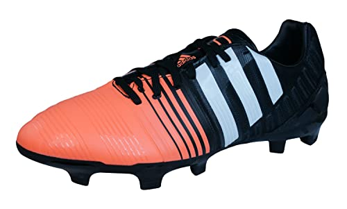 adidas Nitrocharge 2.0 FG Mens Football Boots / Cleats-Black-6.5