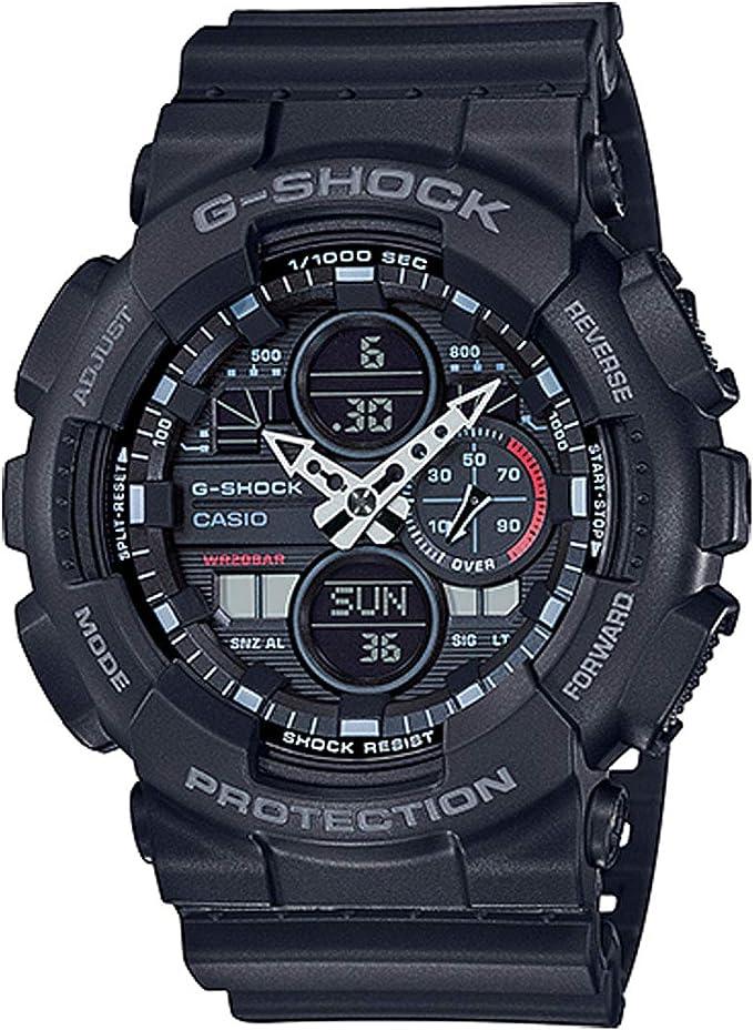 Amazon.com: G-Shock GA140-1A1 Black One Size: Watches