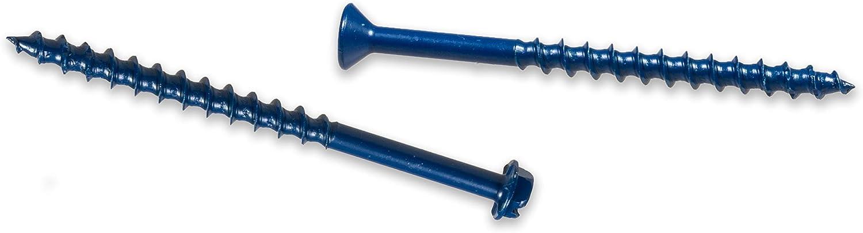 Simpson Strong-Tie TNT25334H Titen Turbo Hex Head 1//4 x 3-3//4 100ct