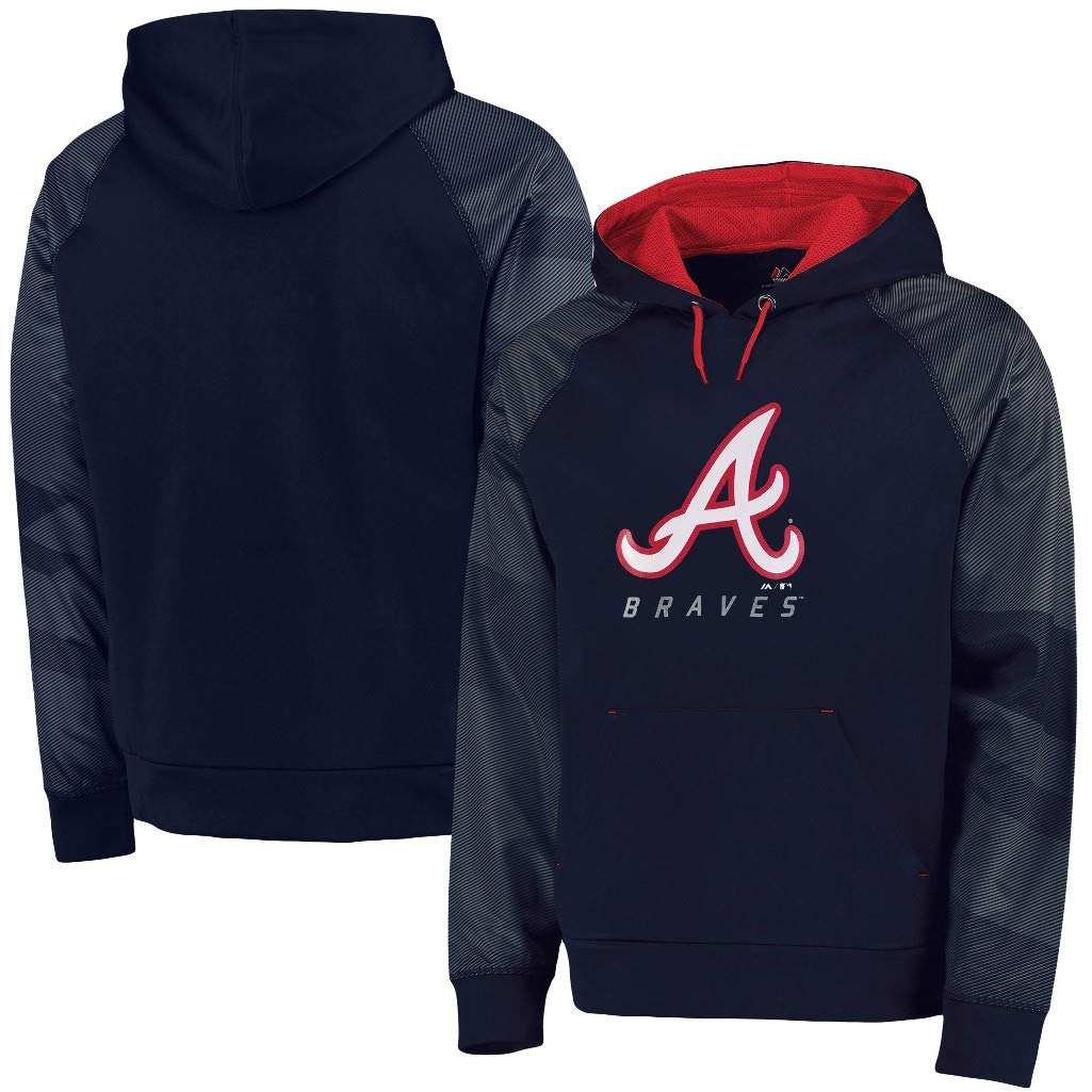 the best attitude 0e7f7 9b88a Amazon.com : VF Atlanta Braves MLB Majestic Mens Armor ...