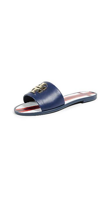 324d44024c0daa Tory Burch Logo Jelly Slide Sandals (7 M US