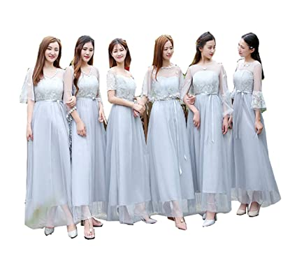 2b40e13e45433 ブライズメイド ドレス 花嫁の介添えドレス フォーマル ドレス ロングタイプ パーテイー 二次会 ゲストドレス 結婚