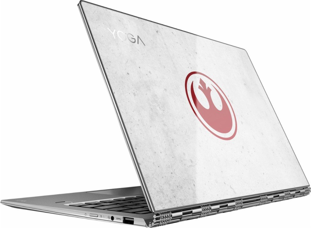 "Lenovo Yoga 910 Star Wars Special Edition Rebel Alliance 2-in-1 13.9"" Laptop Intel Core i7 8GB Memory 256GB SSD Silver"