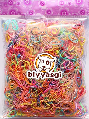 Multi Candy Color TPU Baby Girl's Kids Hair Holder Hair Tie Elastic Rubber Bands