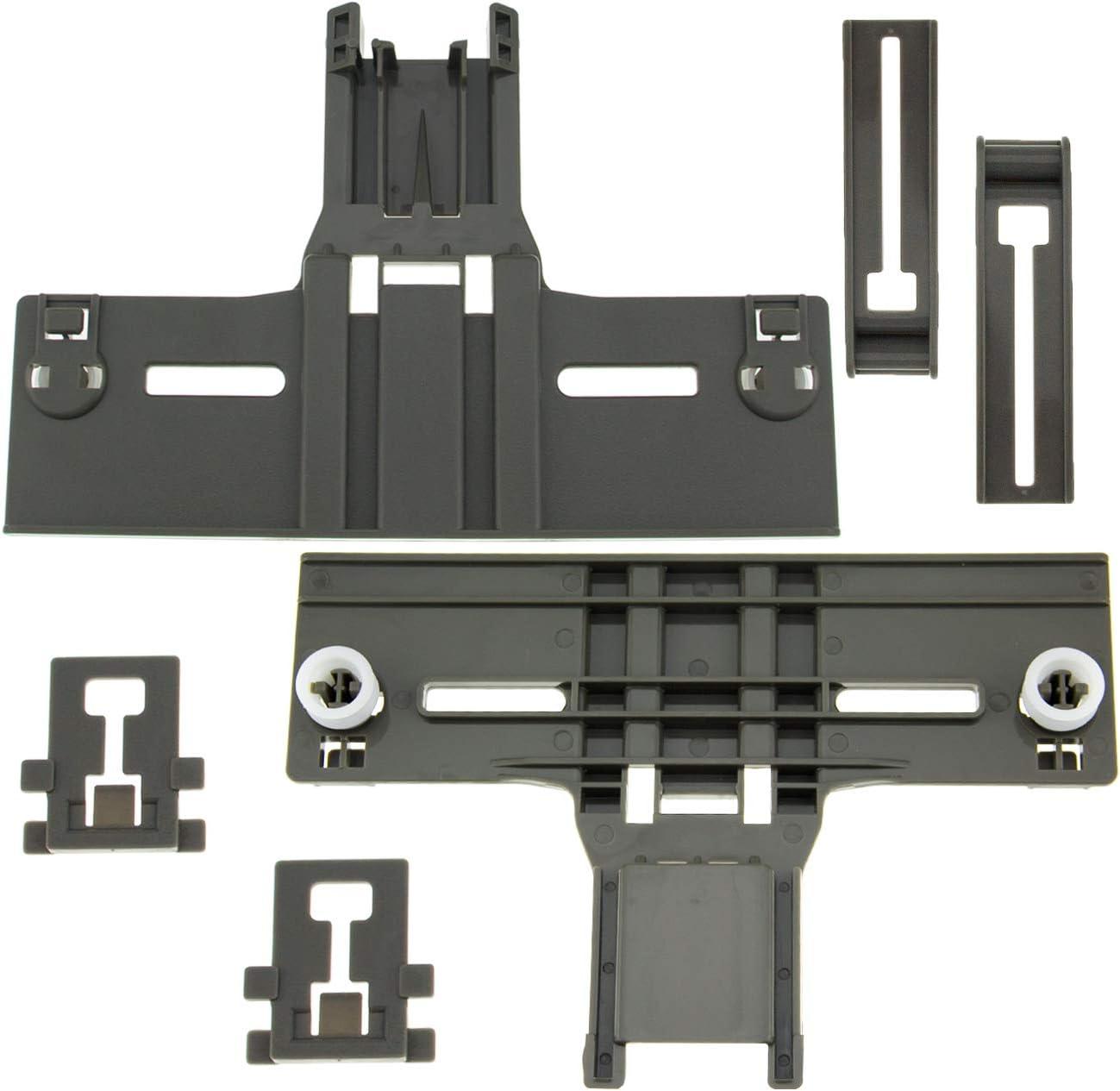 W10350376 Dishwasher Top Rack Adjuster & W10195839 Dishwasher Rack Adjuster & W10195840 Dishwasher Positioner Fit For Whirlpool Dishwasher