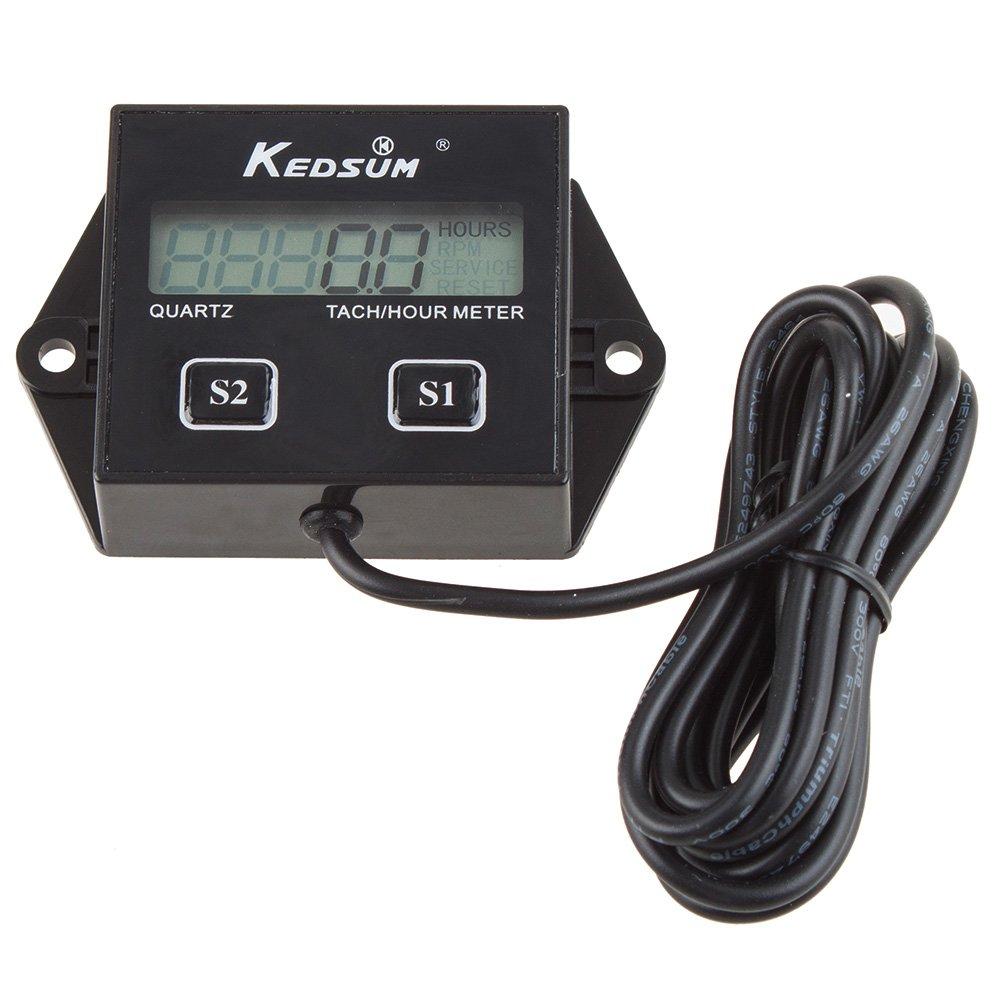 Hour Meter Operation : Kedsum hour meter tachometer stroke small engine