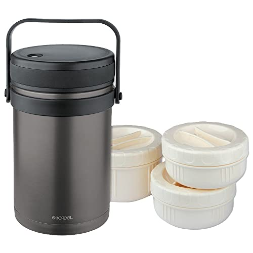 Isosteel VA-9683AT 51 Ounce Double-Wall Vacuum Food Container