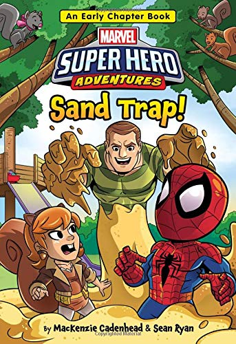 Marvel Super Hero Adventures Sand Trap!: An Early Chapter Book (Super Hero Adventures Chapter Books)