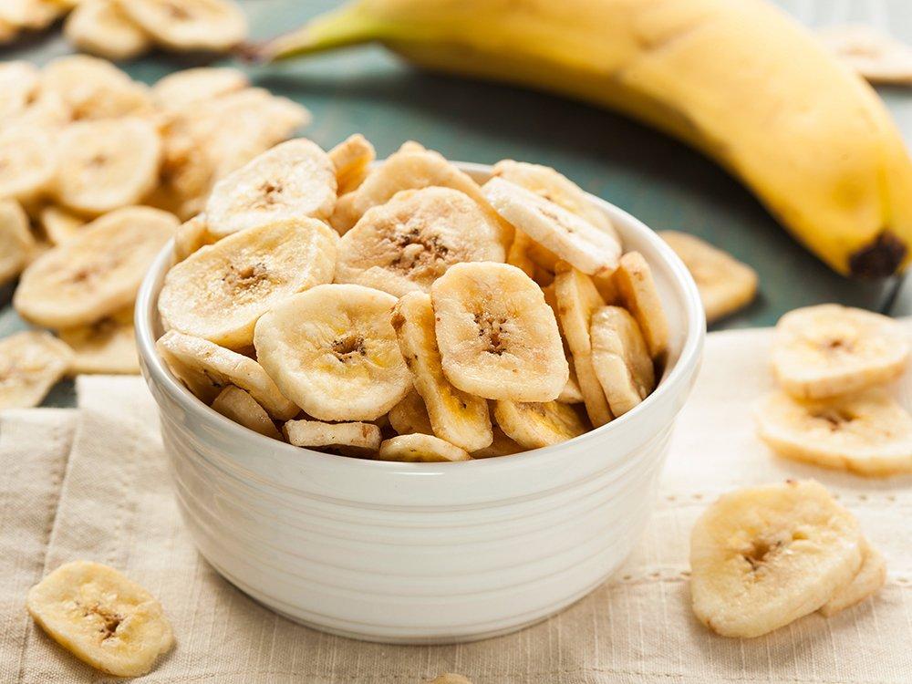 Organic Banana Chips, 1 Pound — Sweetened, Unsulfured, Non-GMO, Vegan, Kosher, Bulk