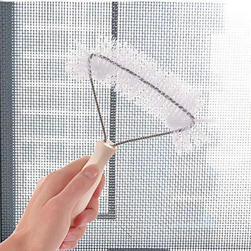 ️ Yu2d ❤️❤️ ️Home Plastic Multifunction Dust Removal Window Screen Brush Cleaner Brush Tool ()
