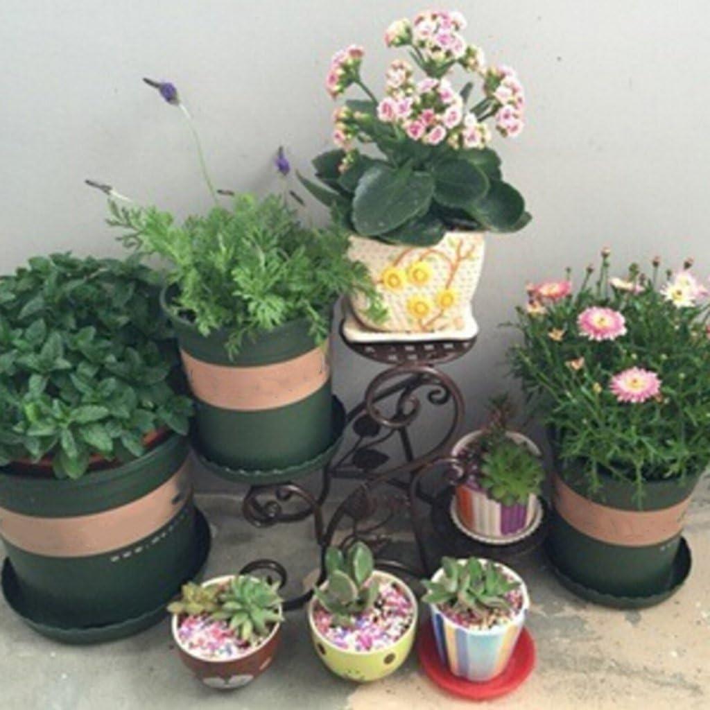 luosh Garden Pot Saucer Round Heavy Duty Plant Saucers for Indoor Outdoor Plants Garden Saucers Plant Pot Saucer Trays Random Color,1 Piece
