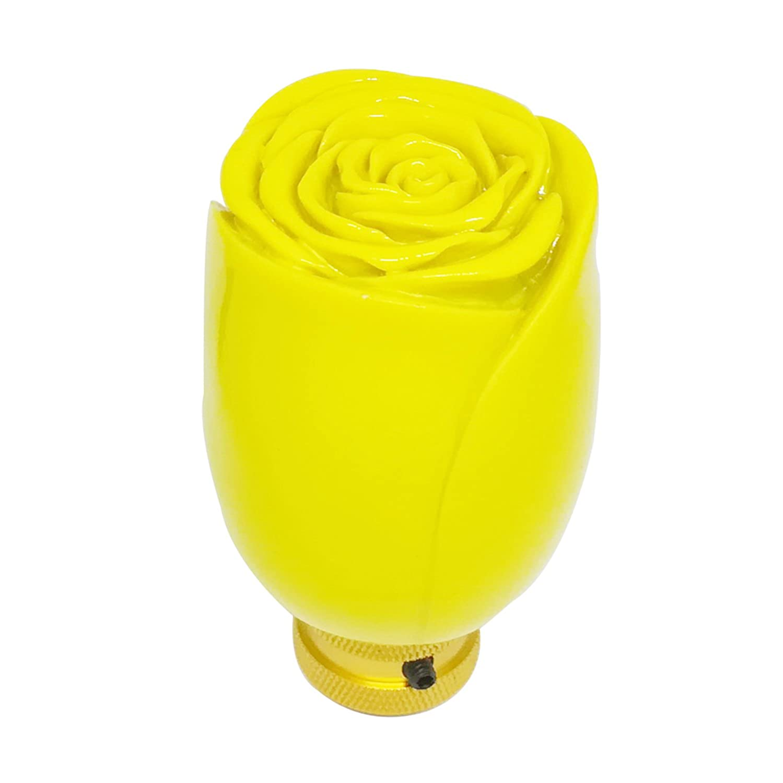 Mavota Yellow Rose Manual Automatic Gear Shift Knobs