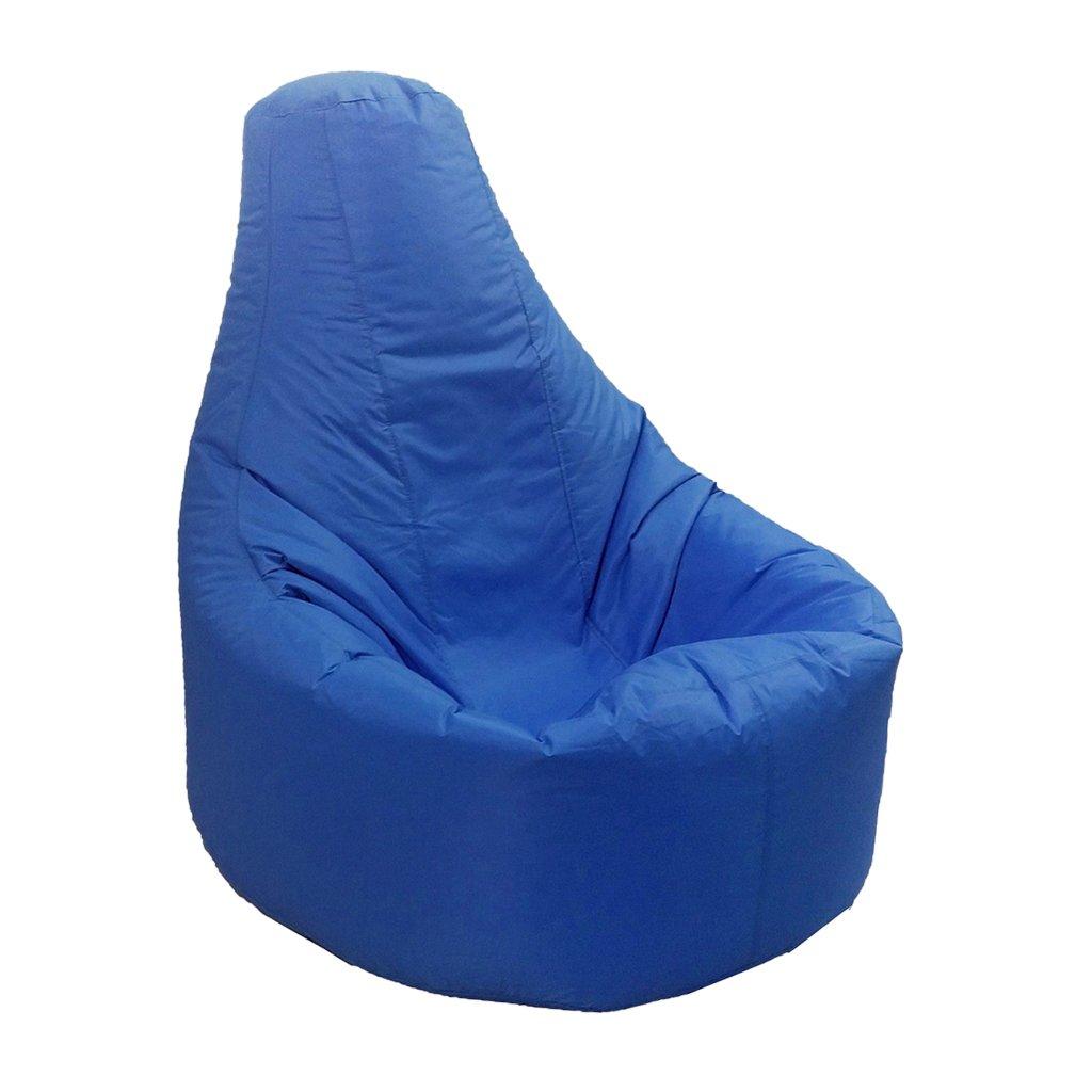 non-brand Sharplace Copri Pouf Reclinabile Sedia da Gaming Bean Bag Decorazione per Camera da Letto, Soggiorno, Giardino - Blu