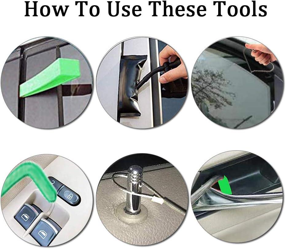 Long Reach Tools Non Marring Wedge,Essentials Automotive Kit for Cars Trucks AUTOYU Professional Car Kit 6PCS