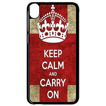 Carcasa HTC Desire 820 keep calm UK: Amazon.es: Electrónica