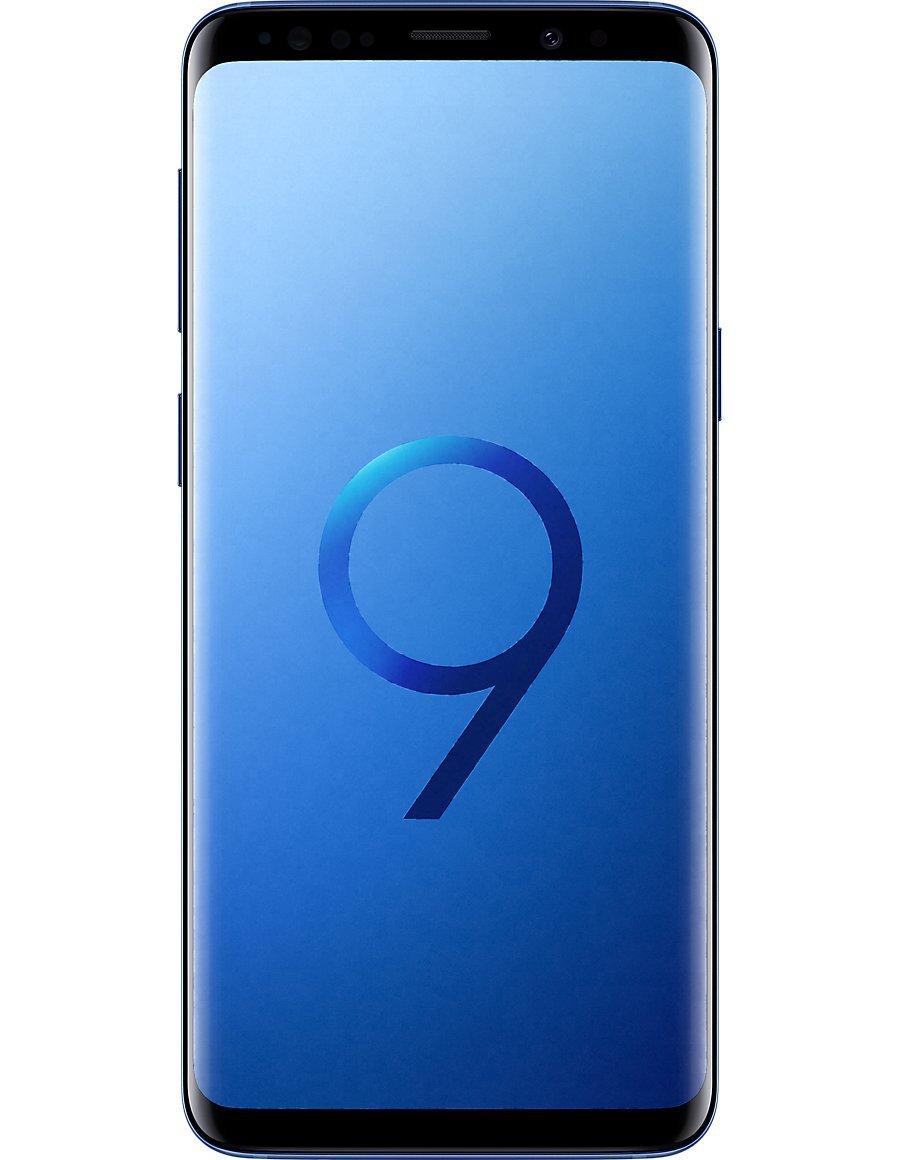 Samsung Galaxy S9 Plus (Coral Blue, 64 GB) (6GB RAM)