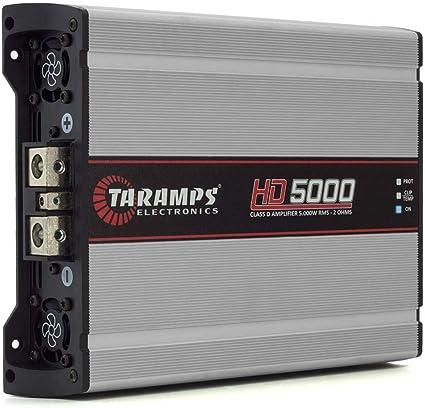 Taramps Hd5000 2 Ohm Amplifier Eq Taramp S Hd 5000 Watt Full Range Digital Amp Mp3 Hifi