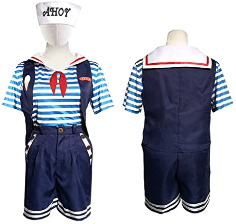 ZLLZM Stranger Things Robin Scoops Ahoy Cosplay Disfraz De ...