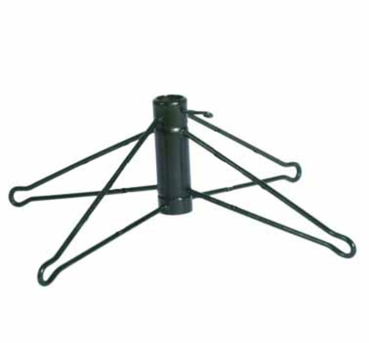 Vickerman Green Metal Christmas Tree Stand For 4' - 4.5' Artificial Trees