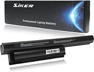SIKER 5200MAH New Replacement Laptop Battery for Sony VAIO VGP-BPS26 VGP-BPL26 VGP-BPS26A Sony VAIO CA Series/EJ Series/EG Series/CB Series-12 Months Warranty