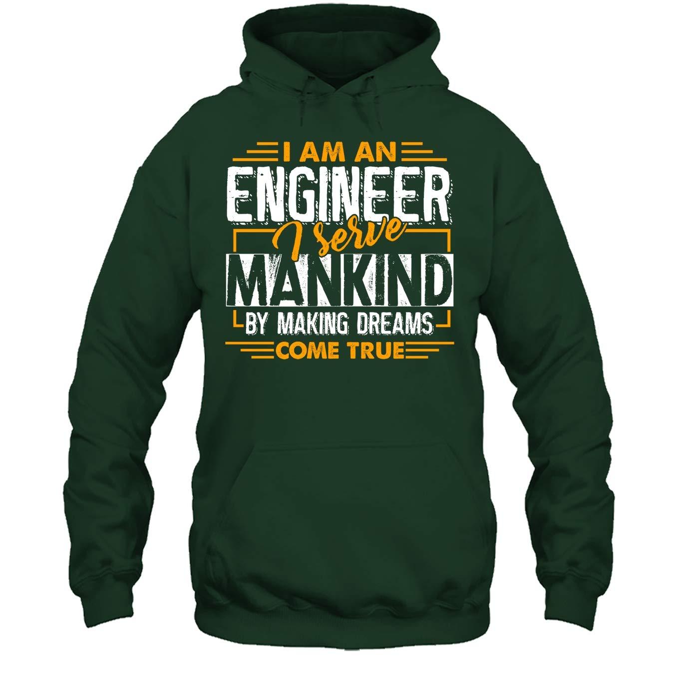 Engineers Serve Mankind Tee Shirt Engineer T Shirt