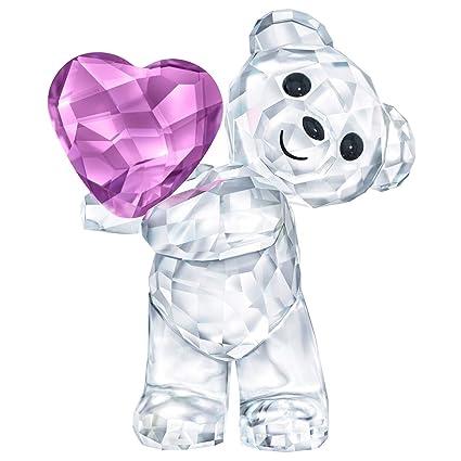 9cd1f00053 Amazon.com: Swarovski Kris Bear - Take My Heart Clear: Home & Kitchen