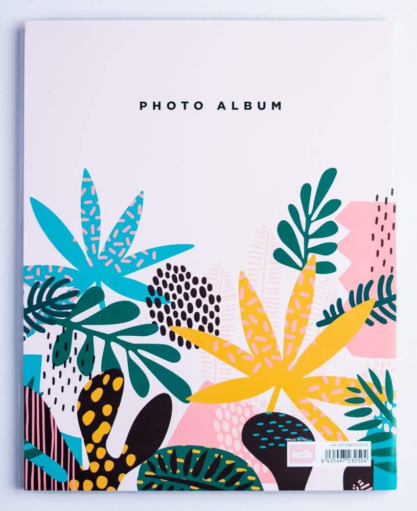96 tasche Album foto 13x20 cm Abstract Tropics Erik copertina morbida