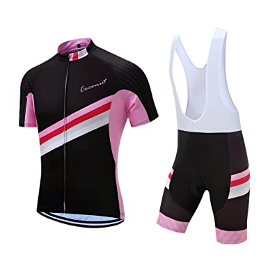 Coconut New Design Men s Summer Short Sleeves Bike Jersey Cycling Clothing  Bib Shorts With 3D Padded 7e08c2e4a