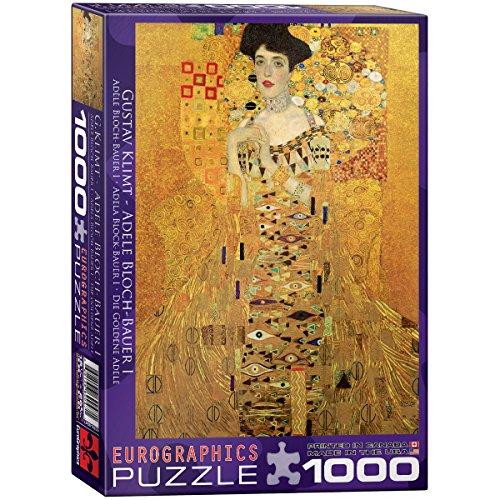 EuroGraphics Portrait of Adele Bloch Bauer by Gustav Klimt 1000 Piece Puzzle