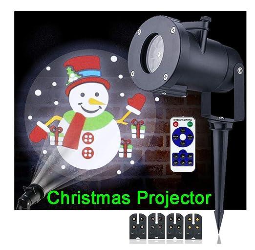 Navidad Proyector Luz, 4 Diferentes Diapositivas Navidad Tema ...