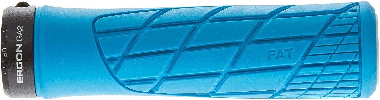 Taille Unique Ergon GA2 Fat Bleu Grip de VTT et de V/élo Adulte Unisexe