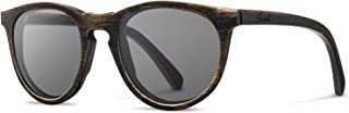 product image for Shwood Belmont Original Sunglasses | Distressed Dark Walnut/Grey WOBDDWG