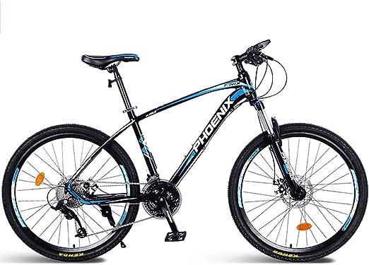 Bicicleta De Montaña Unisex Cuadro De Aluminio De 27 Velocidades ...