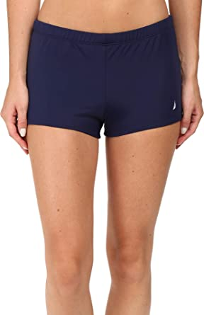 """Nautica Womens 2/"""" Boyshort Swim Bottom"""