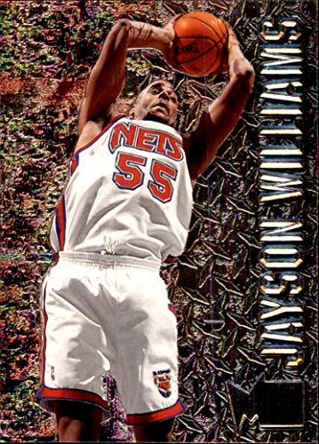 0c648c01af5 1996-97 Metal  63 Jayson Williams NEW JERSEY NETS ST. JOHN S REDMEN RED