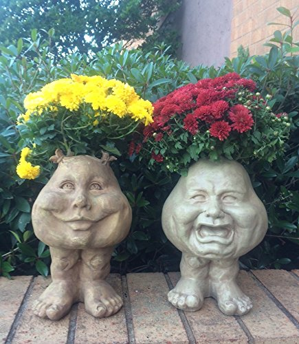"""Homestyle Muggly #37397 Sister Suzy Q and Brother 12"""" Fac..."""