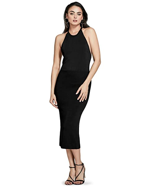 brand new 1467b 138c8 Marciano Guess Women's Aida Sleeveless Sweater Dress Jet ...