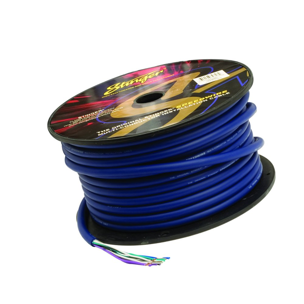 Stinger SGW951 5 Conductor Speedwire 100ft Roll, Blue by Stinger