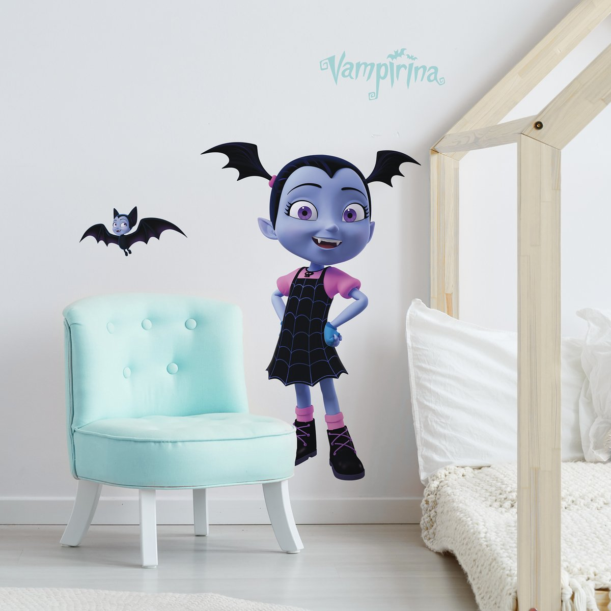 Vinilo Decorativo Pared [7BCRWFPG] vampirina disney