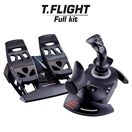 Thrustmaster T Flight Full Kit Hotas System Inkl Pedale Pc Games