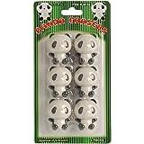 "US Toy - Black & White Panda Theme Erasers, Size 1.5"" (1-Pack of 6)"
