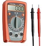 Eventek Digital Multimeter, ET380 Electronic Amp Volt Ohm Voltage Meter Multimeter with Diode and Continuity Test Tester With Backlight