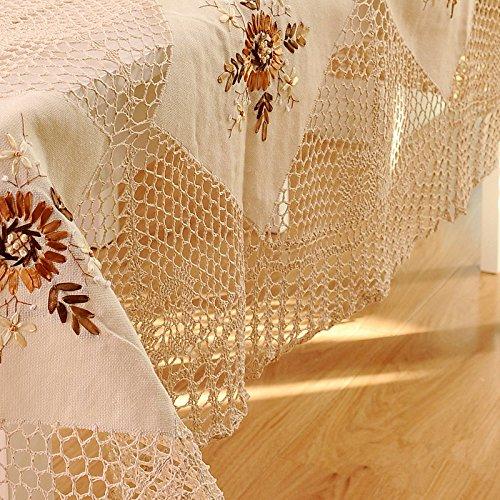Ustide Rustic Tablecloths Handmade Crochet Lace Dining  : 61 YphhhxJL from www.desertcart.ae size 500 x 500 jpeg 87kB