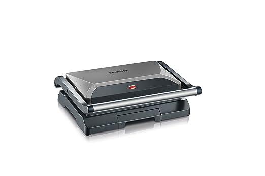 SEVERIN KG 2394 Grill automático y compacto con Slim-Design ...