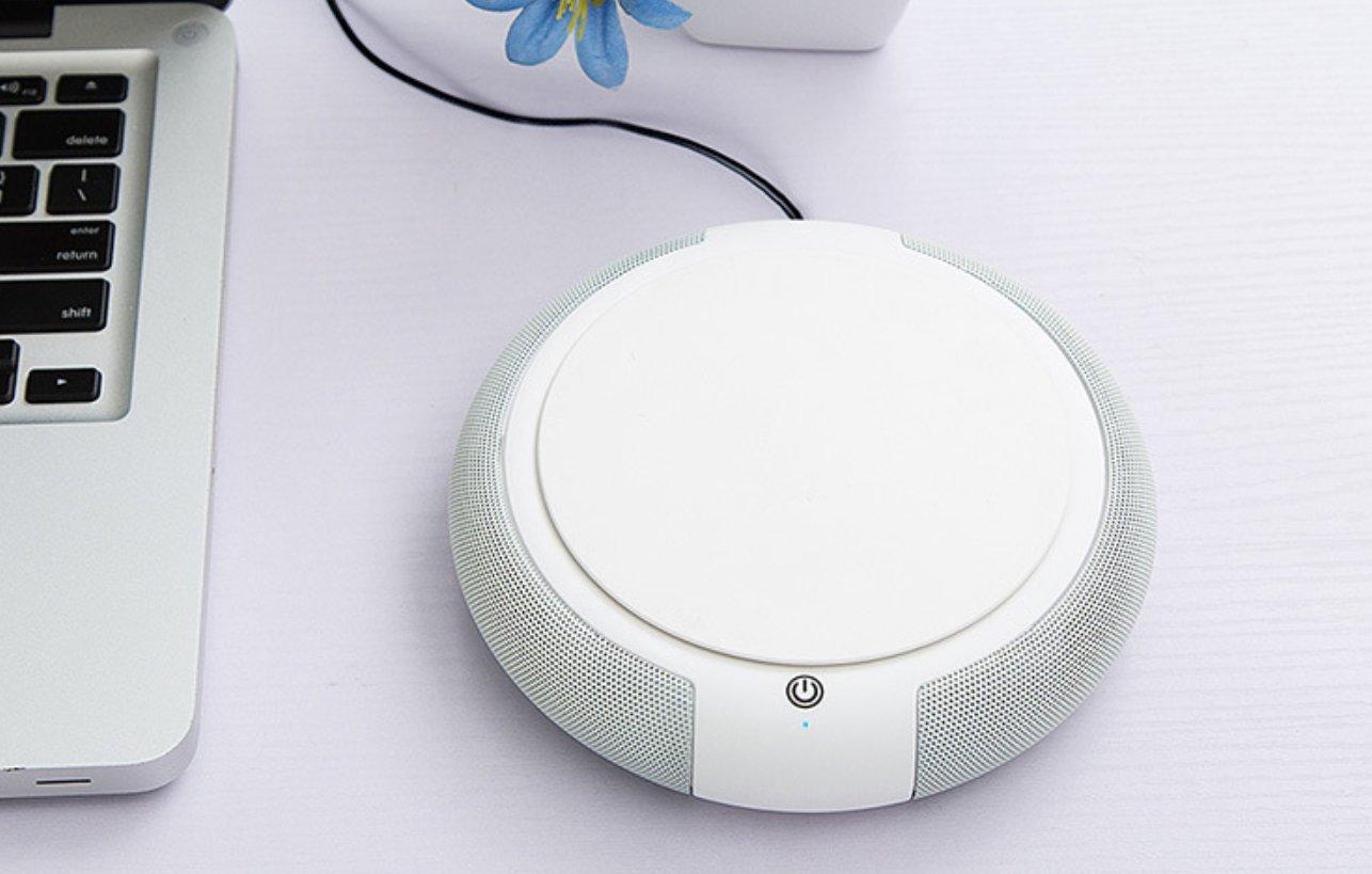 ZXXAS Purificador Home Además De Formaldehído Smog Pm2.5 Purificador De Aire del Coche, Blanco: Amazon.es: Hogar