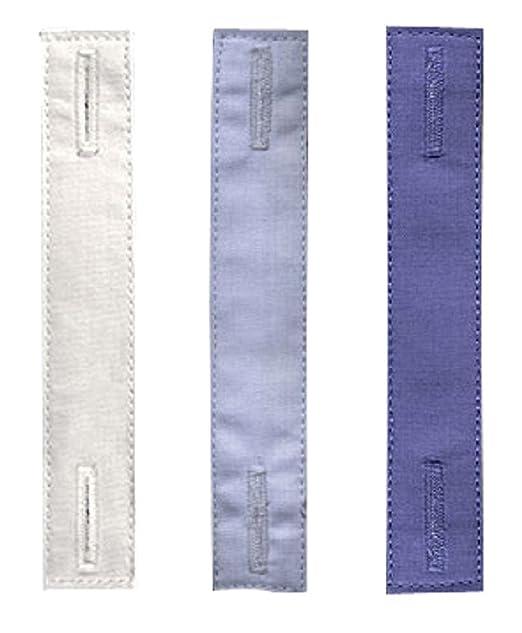 KliSa The Tie Thing ® - Invisible y discreta alfiler de corbata - Paquete de 3